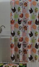 Celebrate Halloween Together Sugar Skull Shower Curtain 70x70 NIP