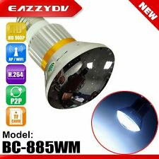 Hidden SPY Mirror Bulb Lamp Camera WiFi P2P IP DVR with 5W White LED Light