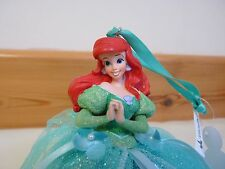 Disney WDW Ariel The Little Mermaid Ball gown Ornament Christmas Tree Beautiful