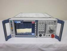 Rohde & Schwarz FSL6 9kHz-6GHz Spectrum Analyzer w/ Opts B10/K7/K8 - CALIBRATED!