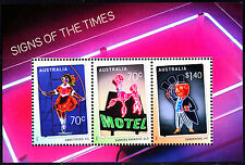 Australia 2015 Signs of the Times Minisheet Stamps, MNH