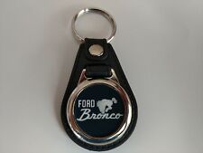 FORD BRONCO Key Chain fob logo single pack BLK