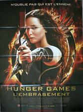 HUNGER GAMES 2 L'EMBRASEMENT Affiche Cinéma / Movie Poster Jennifer Lawrence