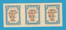 Federated Malaya States Rubber Export Coupon 2 Coagulant Oct Nov Dec 1941