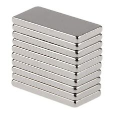 10Pcs Neodymium Block Magnet 20x10x2mm New Super Strong Rare Earth Magnets
