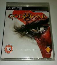 GOD OF WAR 3 (III) PS3 New Sealed UK PAL Version Game Sony PlayStation 3