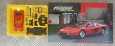 BURAGO FERRARI 512 TR MODEL KIT METAL BODY PLASTIC PARTS SCALE 1:43