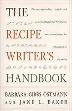 The Recipe Writer's Handbook