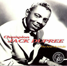Me and My Mule by Champion Jack Dupree (CD, Dec-1996, SEALED MINT Sonny Boy