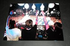 "SWEDISH HOUSE MAFIA PP X3 SIGNED 10X8"" PHOTO AXWELL SEB"