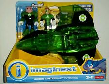 "DC Super Friends GREEN LANTERN & KILOWOG 3"" Figure & JET Imaginext Fisher-Price"