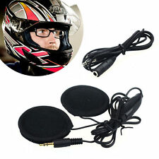 Motorbike Motorcyle In-Helmet Speakers Headphones Earphones 3.5mm Jack Phone MP3