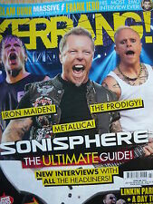 KERRANG 1524 - IRON MAIDEN - METALLICA - MY CHEMICAL ROMANCE