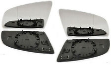 AUDI A6 (C6/4F) 2005-2007 RIGHT+LEFT side Heated Door Mirror Glass Backing Plate