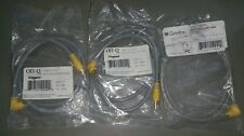F2217 rca patch cable 90 degree Box of 19 pieces