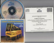 W.GERMANY 415 130-2- JS Bach- Goldberg Variations Trevor Pinnock Harpsichord CD