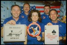 323047 SHUTTLE Crew A4 FOTO STAMPA