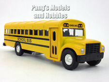 6 Inch Long Yellow School Bus Diecast Metal Model