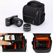 Shoulder Waist Camera Case Bag For SONY Alpha NEX-5T NEX-6 NEX-7 A3000 A7 A7R