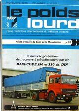 Le Poids Lourd n°761 - 1978 - MAGIRUS DEUTZ 256 M 19 FS - HIAB FOCO