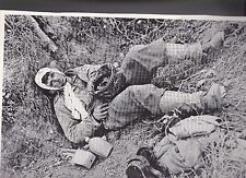 Injured American Soldier  St Lo Normandy WWII Dispatch Photo News Service