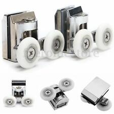 2pcs Twin Top Zinc Alloy Shower Door Rollers/Runners/Wheels Wheel Bottom 23mm
