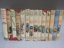Enid Blyton - The Famous Five - 1st/1st - Hodder & Stoughton - 14 Books!(ID:640)