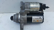 GENUINE VW POLO 1.2 BOSCH REMANUFACTRED STARTER MOTOR 0986020780