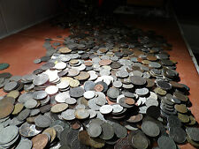 100 british English and world Coins.from 1800 to 1900s