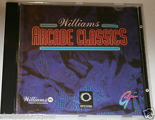 1980s vintage arcade gaming pc cd-rom williams arcade classics objet de collection