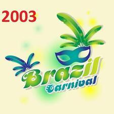 BRAZIL Rio CARNIVAL CARNAVAL 2003 - 14 DVD - Complete Parade