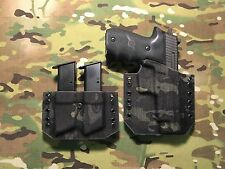 Crye Multicam Black Kydex SIG P226R Holster w/Matching Mag Carrier