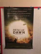 Original Movie Poster Rescue Dawn Double Sided 27x40