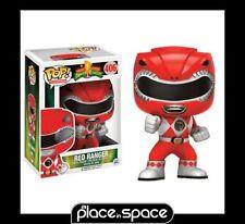 Mighty Morphin Power Rangers: Acción Ranger Rojo representan #406 FUNKO POP Figura De Vinilo
