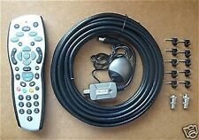 TV SKY HD TELECOMANDO KIT Magic Eye Cavo Clip connettori RF