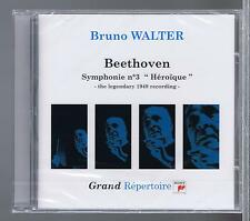 BRUNO WALTER CD NEW BEETHOVEN SYMPHONIE 3 LEGENDARY1949 RECORDING