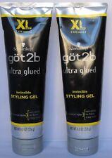 2~Got 2b Ultra Glued Invincible Styling Gel~8 fl. oz. each