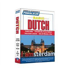 NEW 5 CD Pimsleur Learn to Speak Basic Dutch Language