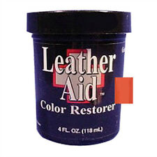 Leather Aid Color Restorer 4 Oz. Fluorescent Orange