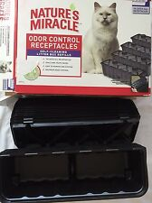Natures Miracle Odor Control Receptacles Self Cleaning Litter Box Refills Cat