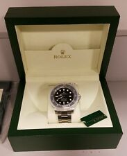 MEN'S ROLEX SEA DWELLER SUPERLATIVE CHRONOMETER W/BOX AND PAPERS 116600