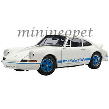 AUTOart 78052 1973 73 PORSCHE 911 CARRERA RS 2.7 1/18 MODEL CAR WHITE / BLUE
