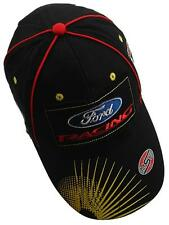 CAP Ford Racing OMSE Distressed Logo Black Flex Fit Rally Cross Hat NEW!