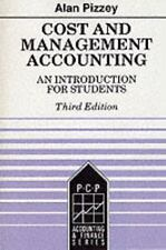 Accounting and Finance: Cost and Management Accounting : An Introduction for...