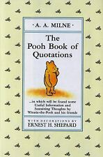 The Pooh Book of Quotations (Winnie-the-Pooh)-ExLibrary