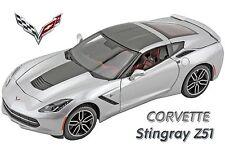 Maisto 1:18 2014 Corvette Stingray Z51 Special Collectors Edition. Silver