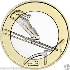5 euros commémorative FINLANDE 2016 - Les Sports  - Le Saut à Ski - UNC - 7/9
