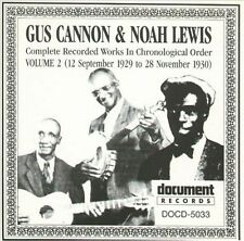 GUS CANNON - Complete Recorded Works, Vol. 2 (192... CD ** NEW/ STILL SEALED **