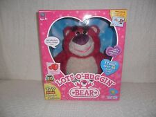 Disney Pixar Toy Story Lots-O-Huggin Strawberry Scented Talking Toy Bear NEW