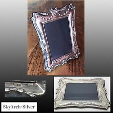 """Solid Silver~Photo Frame~Picture Frame~Hallmarked London 1989~9"""" X 6.5""""~Keyford~"""